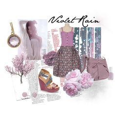 Violet Rain, created by summergirl-914 on Polyvore