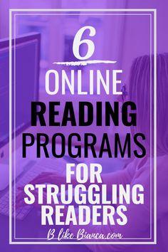 6 Online Programs for Struggling Readers