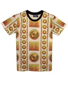 GRMO Men Ethnic Print Long Sleeve Big /& Tall Dashiki Casual T-Shirt Tee