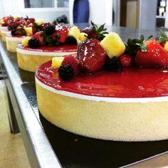 Cheese cake- fruit