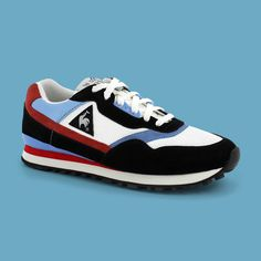 Le coq sportif have produced running product since the early 1980's, with models such as the Eclat utilising technical specifications such as heel cushioning and D-ring speed lacing systems indicative of the era. The early 1990's saw the arrival of models such as the LCSR1000, which introduced compression moulded sole units, adding increased comfort and support for runners. The retro running collection can be found in stores and on www.lecoqsportif.... from now.