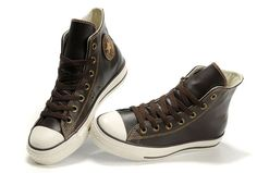 Converse All Star Overseas Brown High Top Ox Leather