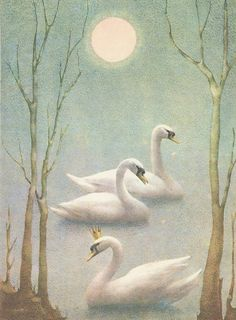 Swan Lake, illustrated by Ludmila Jiřincová, 1970