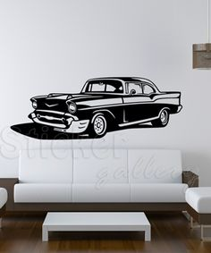 Wall Decal retro style