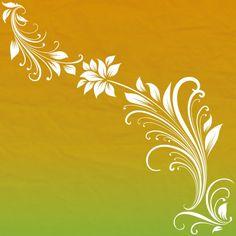 Fundo abstrato floral Vetor grátis