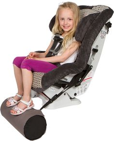 Foot rest for car seat