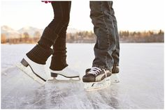 Let's go ice skating. I know its been awhile since you have done it. I will catch you beautiful if you fall.