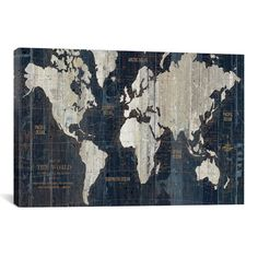 Found it at Joss & Main - Old World Map Graphic Art on Wrapped Canvas