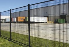 industrial strength ornamental wire fence