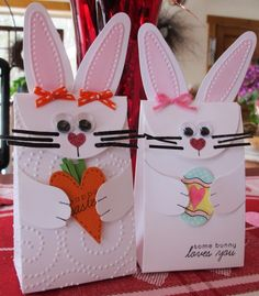 Bunny Bags by Susie B - Cards and Paper Crafts at Splitcoaststampers