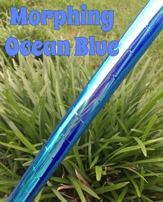 """MORPH Ocean Blue//Dance Exercise Performance Hoop//Polypro • HDPE//1/2"""" • 5/8"""" • 3/4"""" • 7/8""""//Collapsible"""