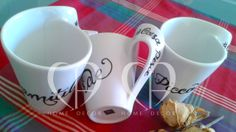 personalzzate cups decorated by hand