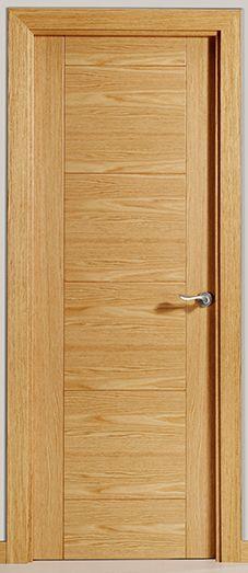 Puerta de interior clara modelo bali y capri de la serie for Catalogo de puertas de madera para interiores