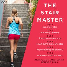 Workout On Pinterest Stadium Workout Track Workout And Stairs