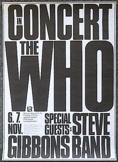 6.-7.11.1975; the who - steve gibbons band; deu, ludwigshafen, friedrich-ebert-halle; (db)