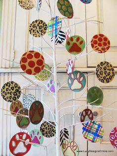 Christmas Ornaments for Pet Shop