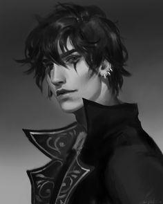 58 Ideas for fantasy art vampire guy Male Character, Character Portraits, Fantasy Character Design, Character Design Inspiration, Story Inspiration, Male Vampire, Vampire Art, Fantasy Male, Dark Fantasy Art