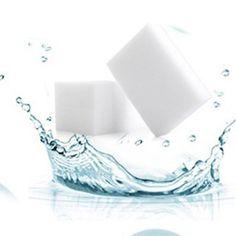 50 pcs/lot Magic Nano Sponge 10*6*2 cm Eraser Durable Dish Washing Melamine Sponge Cleaning Dish Washing Kitchen Accessory S35