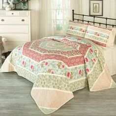 175e6d3da7937 product image for Historic Charleston™ Collection Maiden Lane Quilt Set  King Size Quilt Sets
