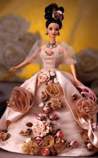 Antique Rose� Barbie� 1996 Limited Edition FAO Exclusives