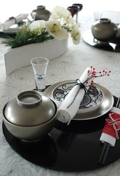 Japanese Tablescape
