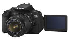Canon lança T4i, Full HD com tela sensível ao toque