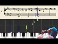 Halsey - Gasoline - EASY Piano Tutorial + Sheets - YouTube