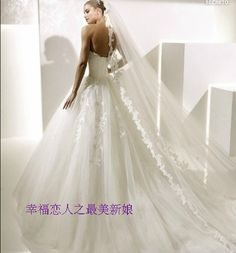 Lace bridal veil, 3 m layer veil, church wedding veil, two colors: white and ivory, other sizes can be customized,-inBridal Veils from Weddings & Events on Aliexpress.com | Alibaba Group