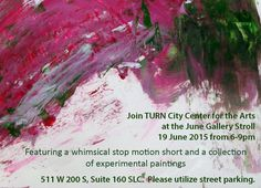 Tonight is gallery stroll at TURN City Center for the Arts! Come see what we've been up too and check out our blog as well! http://turncitycenterarts.weebly.com/