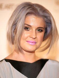 i want purple grey hair