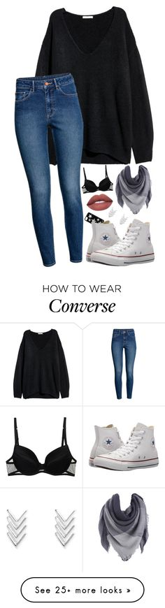 """Untitled #519"" by lovelyoutfitss on Polyvore featuring Christies and Converse"