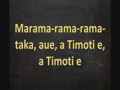 Maori Calendar Song - Maramataka Lyrics On Screen (+playlist)