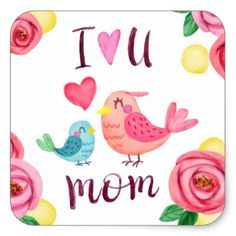 happy mothers day image love you Mothers Day T Shirts, Mothers Day Crafts, Mother Day Gifts, Mom Shirts, Tarjetas Diy, Happy Mother Day Quotes, Happy Day, Mom Quotes From Daughter, Mothers Day Images