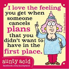 Let's Laugh: Aunty Acid
