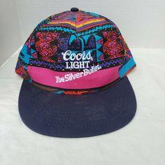Unisex Adjustable Coors-Light-Beer-Baseball Caps Classic Flat Hats