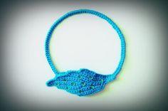 Sonora Choker Necklace / Crochet Choker Necklace by LemonCucullu