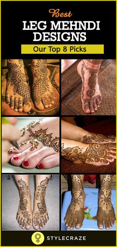 Legs are a very beautiful canvas for showcasing Mehndi. It is a tradition for the Indian bride to apply mehndi both on the hands and the legs. And this art is not just for brides, anyone willing to adorn their feet can try it out. Legs Mehndi Design, Mehandi Designs, Leg Mehndi, Mehendi, Beauty Network, Illustrations, Hand Henna, Beautiful Hands, Illustration