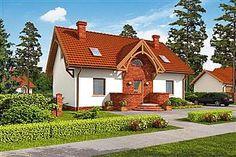 Projekt domu Akord Neo - murowana – beton komórkowy 158,2 m2 - koszt budowy 249 tys. zł - EXTRADOM Home Fashion, Cabin, House Styles, Boho, Home Decor, Projects, Decoration Home, Room Decor, Cabins