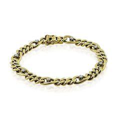 Armband mit acht Diamanten, 14 kt Gelbgold Wir kaufen verkaufen Ihren #Schmuck, antike #Juwelen, Edelsteine, Brillanten aus Privatbesitz / Erbschaft! Wir beraten Sie für eine optimale Verwertung https://www.schmuck-boerse.com/index-gold-armschmuck.htm #schmuckboerse
