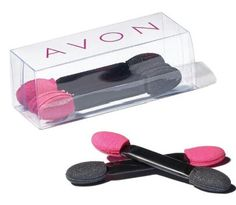 Five dual-ended sponge eyeshadow applicators in a handy storage container. On Sale for $1.49