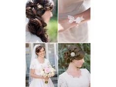 Die schönsten Frisuren zur Hochzeit / annabelle (Bild: Jessica Claire für Greenweddingshoes.com)