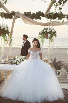 Bride.. Wedding.. Sea..  Love