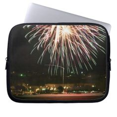 Fireworks Laptop Computer Sleeves