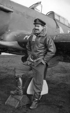 """Taking off with No 79 Squadron RAF from RAF Biggin Hill at 08.25hrs on 28 August 1940 to operate from RAF Hawkinge, P/O Leofric T Bryant-Fenn (pictured) claimed a He 59 shared destroyed with F/O Edward J """"Teddy"""" Morris and P/O Paul F Mayhew in mid-Channel at 11.50hrs. On the same morning, 20 minutes earlier, F/L Rupert FH Clerke, P/O George H """"Neddy"""" Nelson-Edwards and P/O Brian R Noble of B Flight had found another floatplane in the same area, despatching it into the sea."""