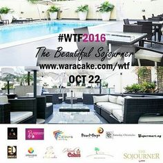 Need we say more ? Need us say more ? Whatever works ! Get your tickets! #WTF2016 Cc @genesishotels @waracake