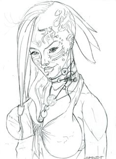 daily sketch work in progress