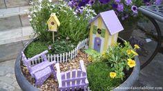 66 super Ideas for diy garden signs popsicle sticks Mini Fairy Garden, Fairy Garden Houses, Gnome Garden, Fairies Garden, Garden Gate, Popsicle Stick Crafts House, Popsicle Sticks, Craft Stick Crafts, Fairy Garden Furniture