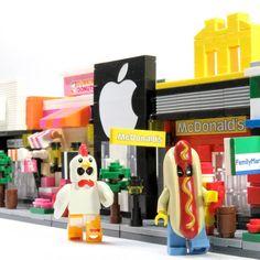 我的商店街 7 7-11KFCNIKE StoreDUNKIN' DONUTSAppleShopMcDonald'sFamily MartStarbucks Coffee=My Own Street 7 #麥當勞 #McDonald #NIKE #711 #7eleven #FamilyMart #Starbucks #Coffee #KFC #DUNKINDONUTS #DONUTS #AppleShop #Street #NonLego #ブロック #Brick #Lego #樂高 #レゴ #BrickFigure #Legostagram #toy  #toys4life #toyrevolution #toycommunity #toyphotography #恒三和 #積木 #迷你街景 by mandom