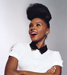 So I think this girl is absolutely adorable!  It also helps that she is super talented. (Janelle Monae)