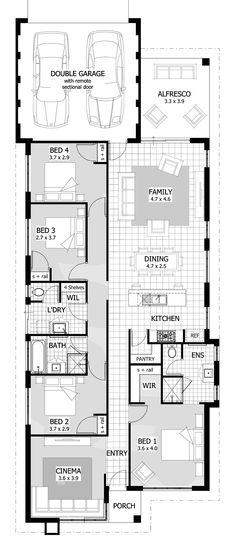 York Floor Plan